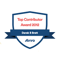 Avvo Top Contributor 2012